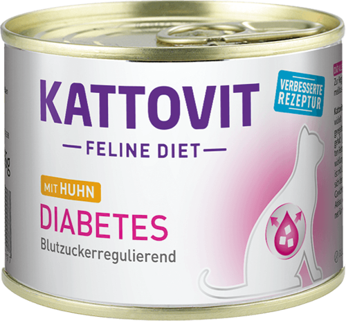 Kattovit Diabetes Huhn 185g