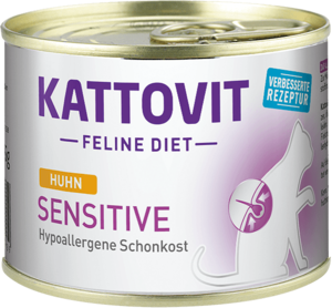 Kattovit Sensitive Huhn 185g